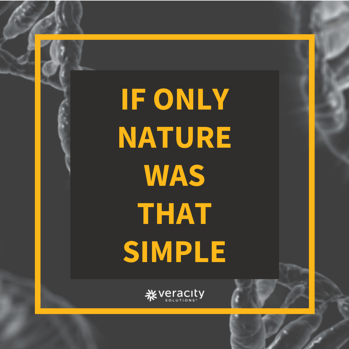 If only nature was that simple